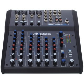 Alesis Multimix 8 USB FX Mischpult Demo