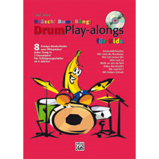 Alfred Kräsch Bum Bäng Drum Play-alongs für kids