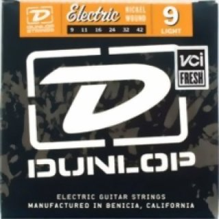 Dunlop Electric Nickel Plated Steel Light .009 /.042