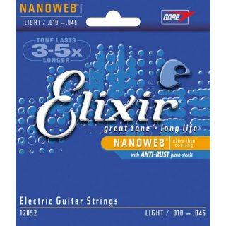 Elixir 12052 Nanoweb Light / .010-.046