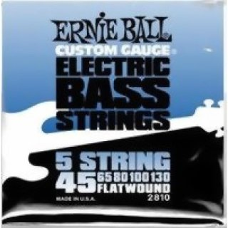 Ernie Ball EB 2810 Flatwound Group I 5 String 45 - 130