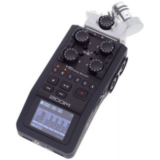 Zoom H6 Portabler 6-Spur Audio-Recorder