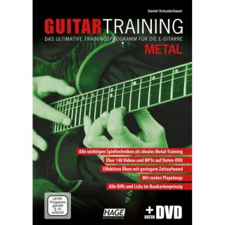 Hage Guitar Training Metal