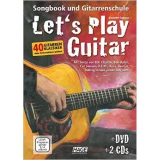 Hage Lets Play Guitar