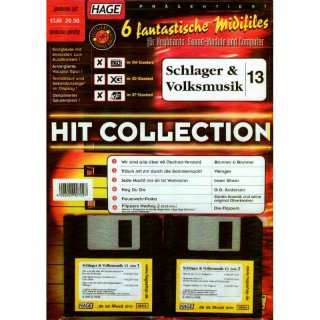 Hage Midifiles Hit Collection Schlager und Volksmusik 13