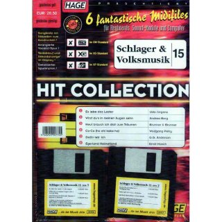 Hage Midifiles Hit Collection Schlager und Volksmusik 15