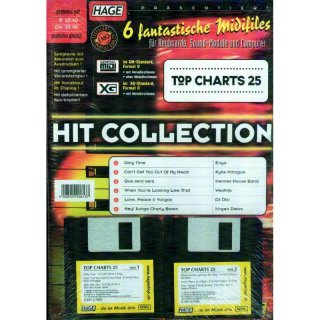 Hage Midifiles Hit Collection Top Charts 25