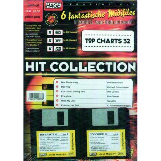 Hage Midifiles Hit Collection Top Charts 32