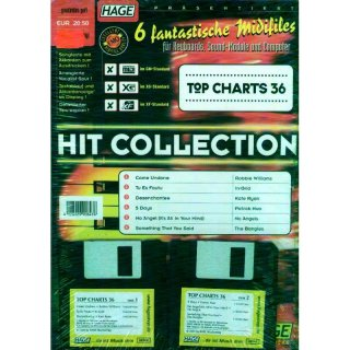 Hage Midifiles Hit Collection Top Charts 36