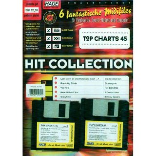 Hage Midifiles Hit Collection Top Charts 45