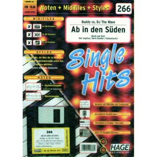 Hage Midifiles Noten Styles Buddy vs. DJ The Wave Ab in den Süden