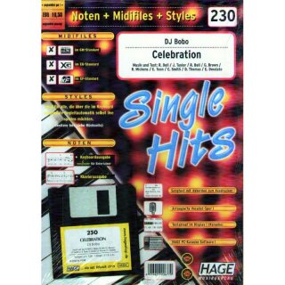 Hage Midifiles Noten Styles DJ Bobo Celebration
