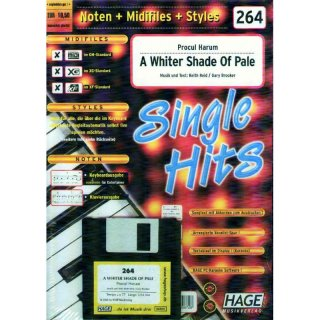 Hage Midifiles Noten Styles Procul Harum A Whiter Shade Of Pale