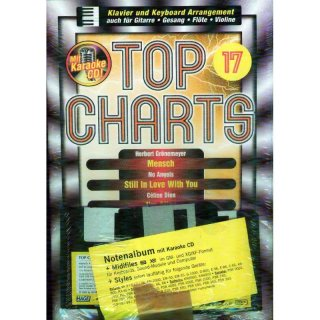 Hage Midifiles Songbook+Midifiles Top Charts 17