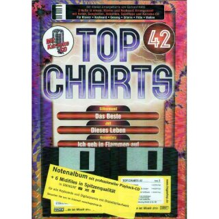 Hage Midifiles Songbook+Midifiles Top Charts 42