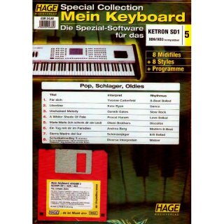 Hage Midifiles Special Collection Mein Keyboard für KETRON SD1 XD9/XD3 5