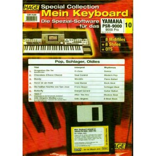Hage Midifiles Special Collection Mein Keyboard für YAMAHA PSR-9000 9000 Pro 10