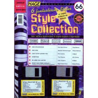 Hage Midifiles Style Collection 66