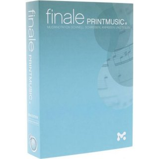 Klemm MakeMusic Finale Printmusic 2014 Notationssoftware (Noten)