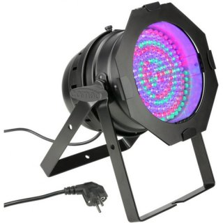 Cameo PAR 64 CAN - 183 x 10 mm LED RGB PAR Scheinwerfer BK