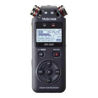 Tascam DR-05X Tragbarer Stereo-Audiorecorder und USB-Interface