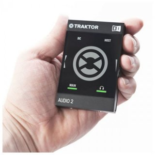 Native Instruments NI Traktor Audio 2 MK2 DJ-Audio-Interface