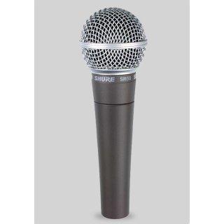 Shure SM58 LCE dynamisches Gesangsmikorofon