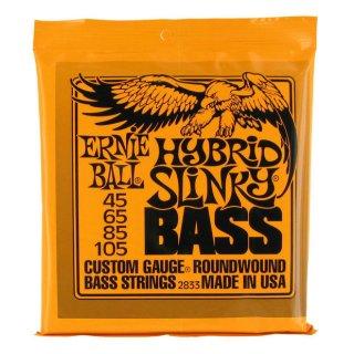 Ernie Ball 2833 Hybrid Slinky Roundwound E-Bass Saiten