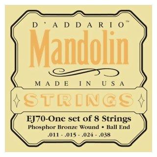 DAddario EJ 70 Saiten für Mandoline Ball End