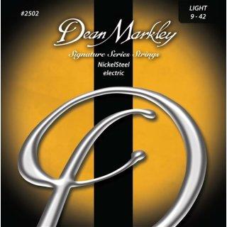 Dean Markley 2502 Nickel Steel Electric Light 009
