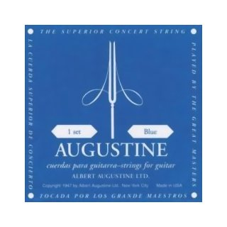 Augustine Blau Nylon Saiten High Tension