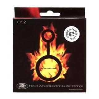 Peavey Elements Nickel Wound Guitar Strings 012 5er-Pack