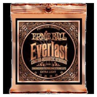 Ernie Ball EB 2550 Everlast Coated Phosphor Bronze