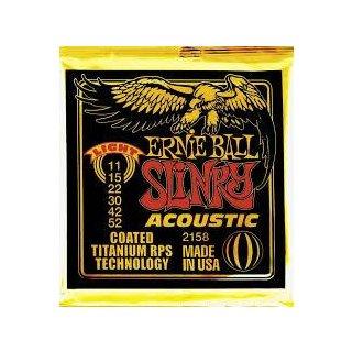 Ernie Ball EB 2158 Slinky Acoustic Coated Titanium Bronze
