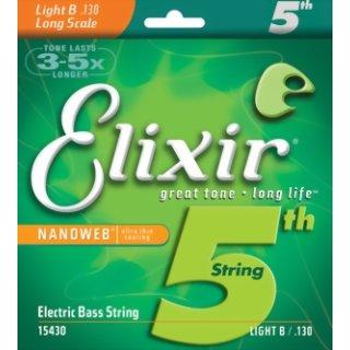 Elixir Nanoweb Light B 130 Electric Bass Strings 15430