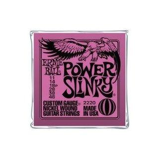 Ernie Ball EB 2220 Power Slinky Saiten 011-048 5-er Packung