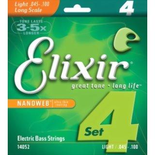 Elixir Nanoweb Light Longscale 45 - 100 Acoustic Bass Strings 14502