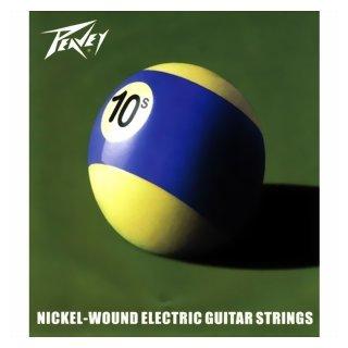 Peavey Pool Ball Nickel Wound Guitar Strings 010, 3 Sets