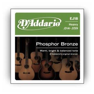 DAddario EJ 18 Saiten für Westerngitarre