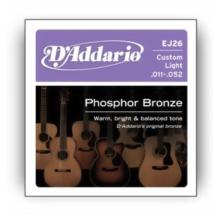 DAddario EJ 26 Saiten für Westerngitarre