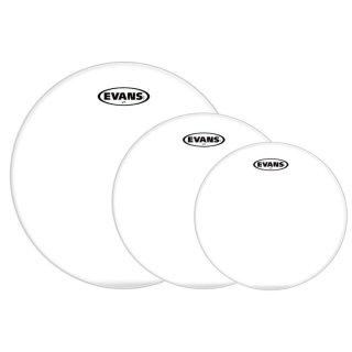 """Evans G2 Clear Fusion Pack 10""""+12""""+14"""""""