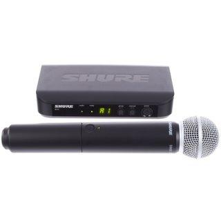 Shure BLX24/SM58 Wireless-System mit einem Handmikrofon