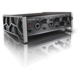 Tascam US-2x2 USB-Audio-/MIDI-Interface für Einsteiger
