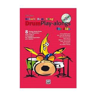 Alfred Kräsch Bum Bäng Drum Play-alongs für kids