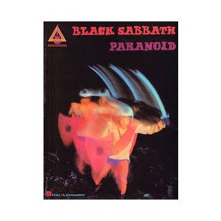 HAL LEONARD Black Sabbath Paranoid