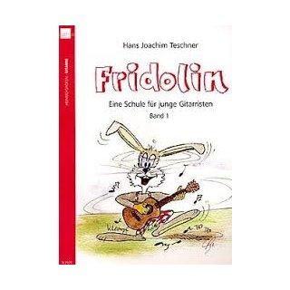 Heinrichshofen Fridolin eine Schule für Junge Gitarristen Band 1