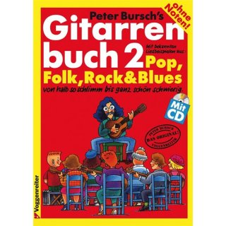 Voggenreiter Peter Burschs Gitarrenbuch 2