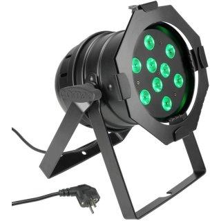 Cameo PAR 56 CAN - 9 x 3 W TRI Colour LED RGB Scheinwerfer BK