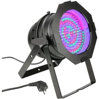 Cameo PAR 64 CAN - 177 x 10 mm LED RGBA PAR Scheinwerfer BK