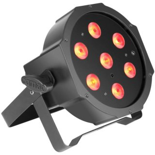 Cameo FLAT PAR CAN TRI 3W IR - 7 x 3 W FLAT LED RGB Scheinwerfer BK